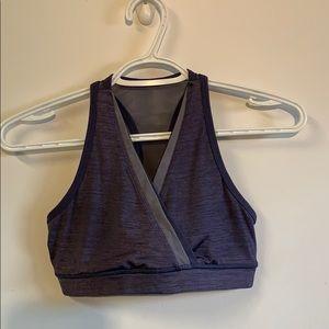 Lululemon Purple/Lavender Sports Bra Size 4 EUC